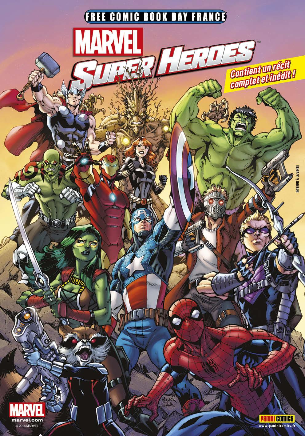 FCBD2016 - Marvel Super-Heroes