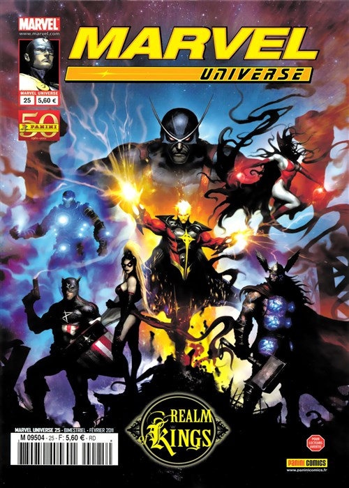 Marvel Universe 25