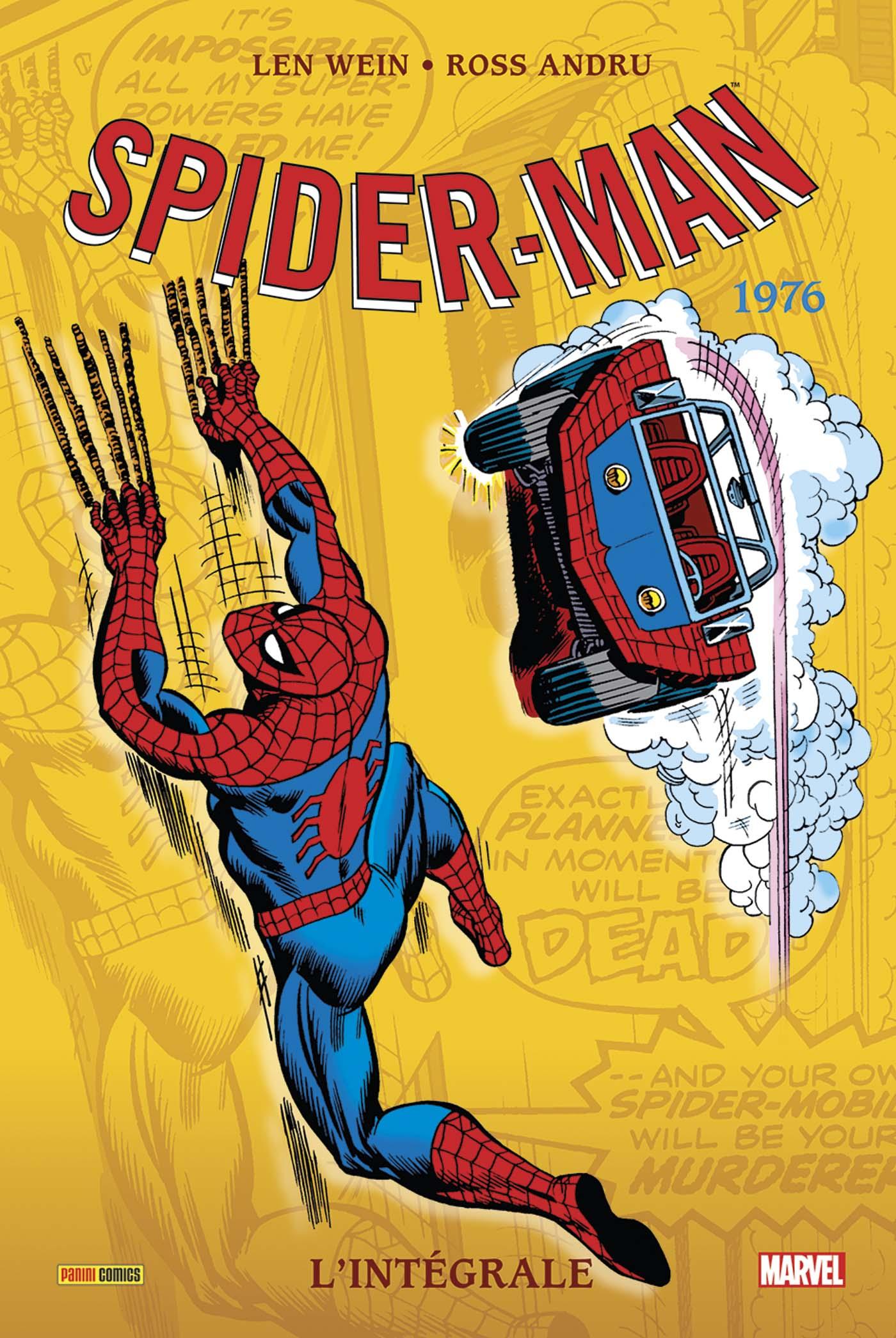 AMAZING SPIDER-MAN L'INTEGRALE 1976 (NOUVELLE EDITION)