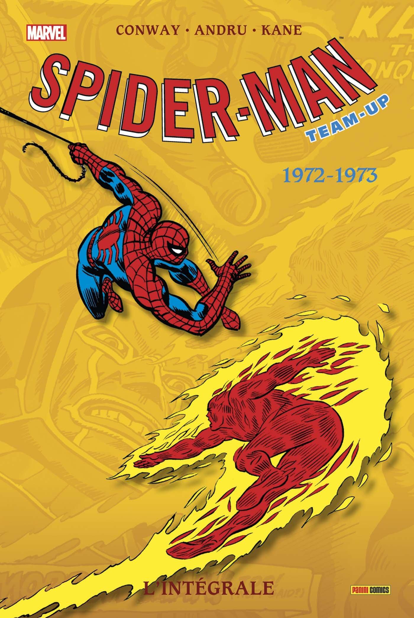 SPIDER-MAN TEAM UP L'INTEGRALE 1972-1973 (NOUVELLE EDITION)