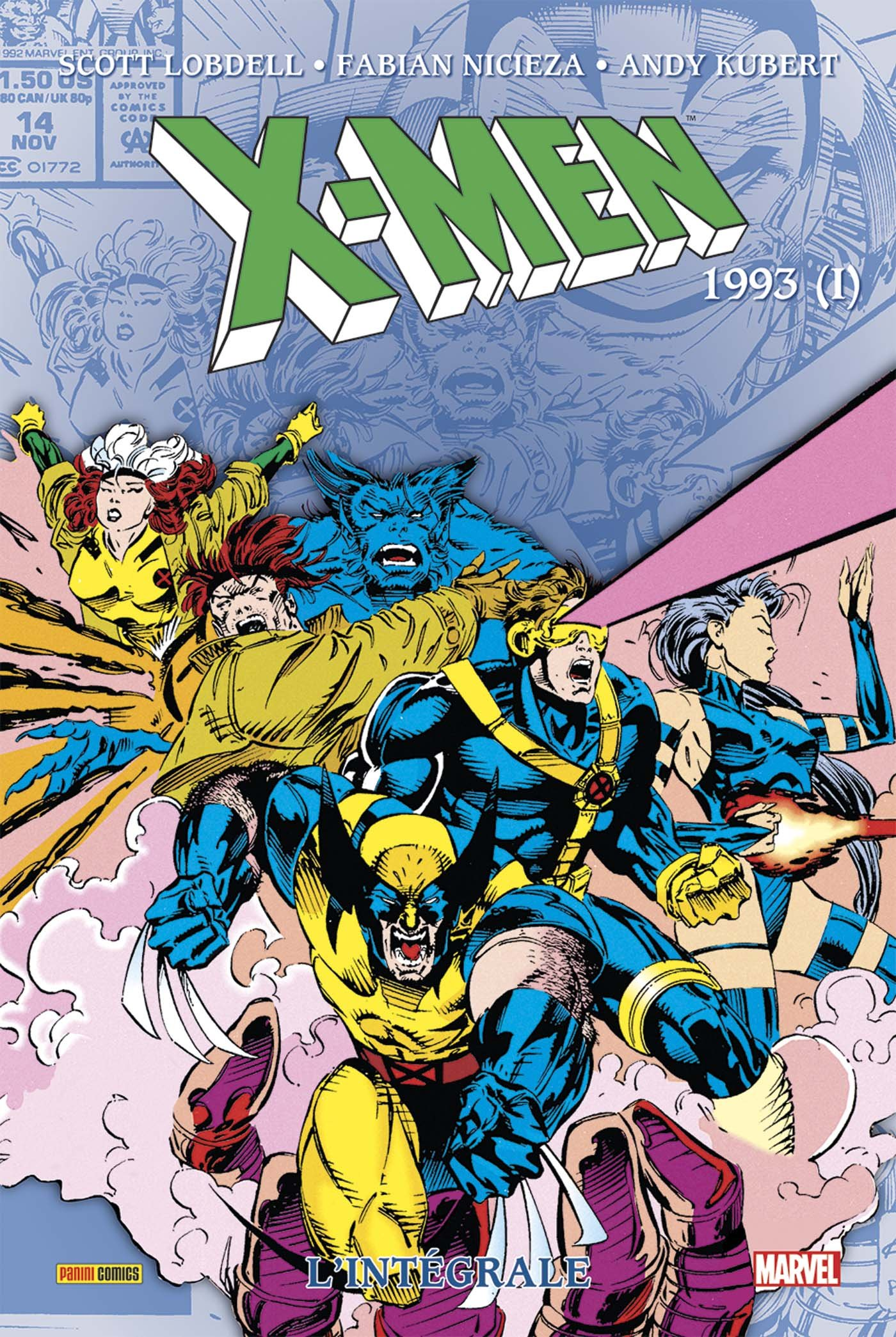X-MEN : L'INTÉGRALE 1993 (I)