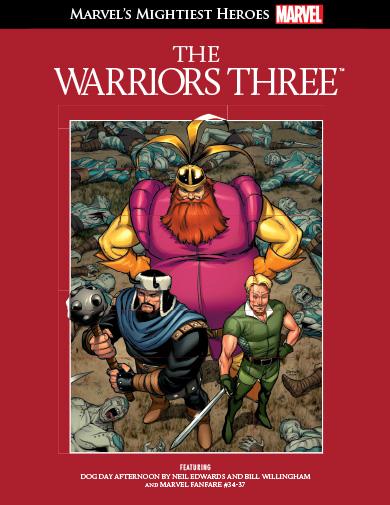 Tome 32 : Les 3 Guerriers