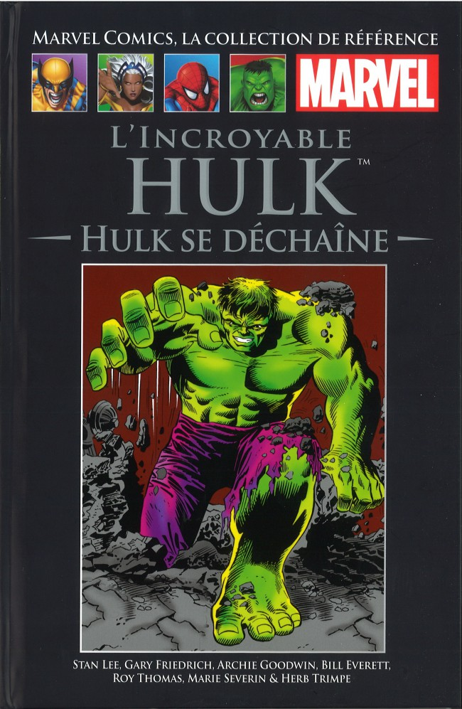 Tome XII: L'Incroyable Hulk - Hulk se Déchaîne