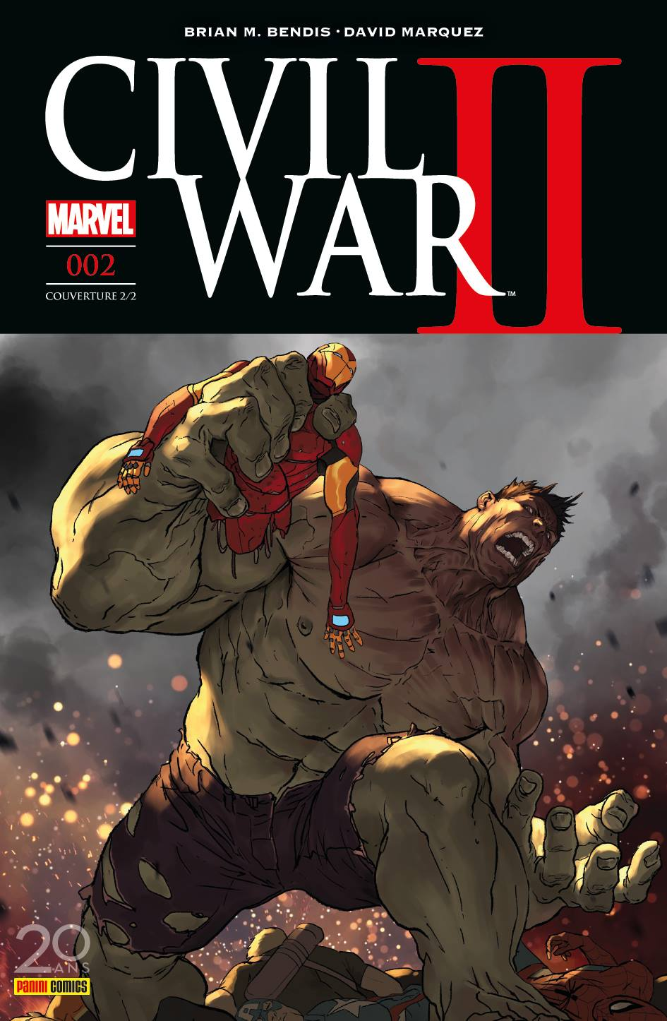 CIVIL WAR II 2 (Couv 2/2)