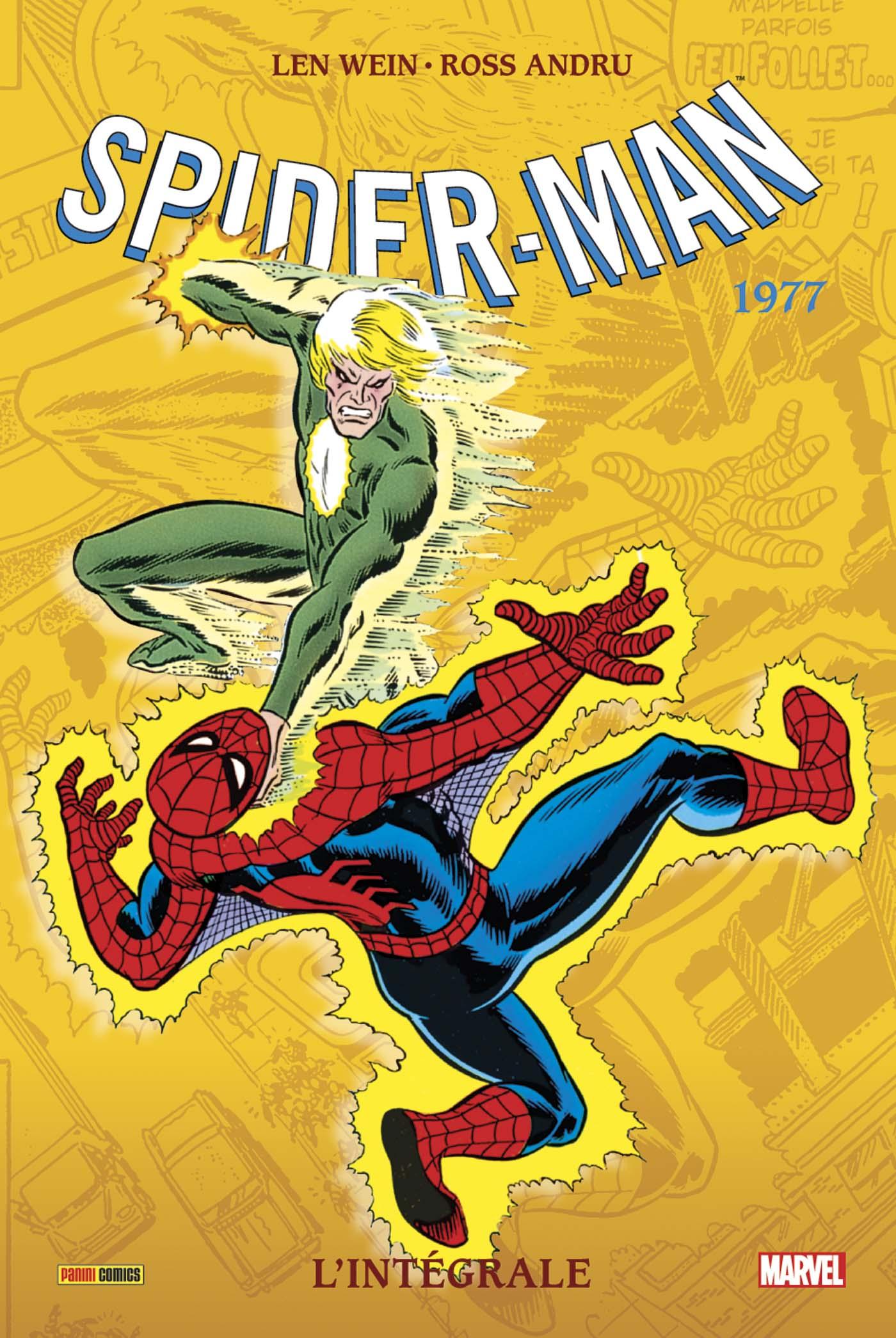 AMAZING SPIDER-MAN L'INTEGRALE 1977 (NOUVELLE EDITION)
