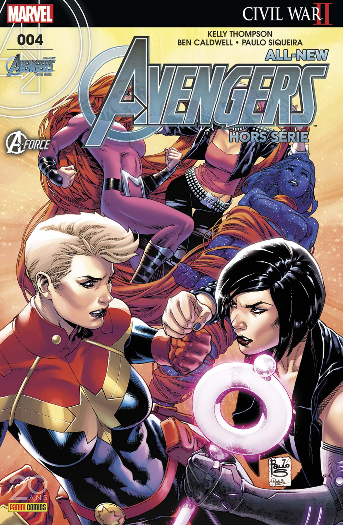 ALL-NEW AVENGERS HORS SERIE 4 : A-FORCE (2 sur 2)