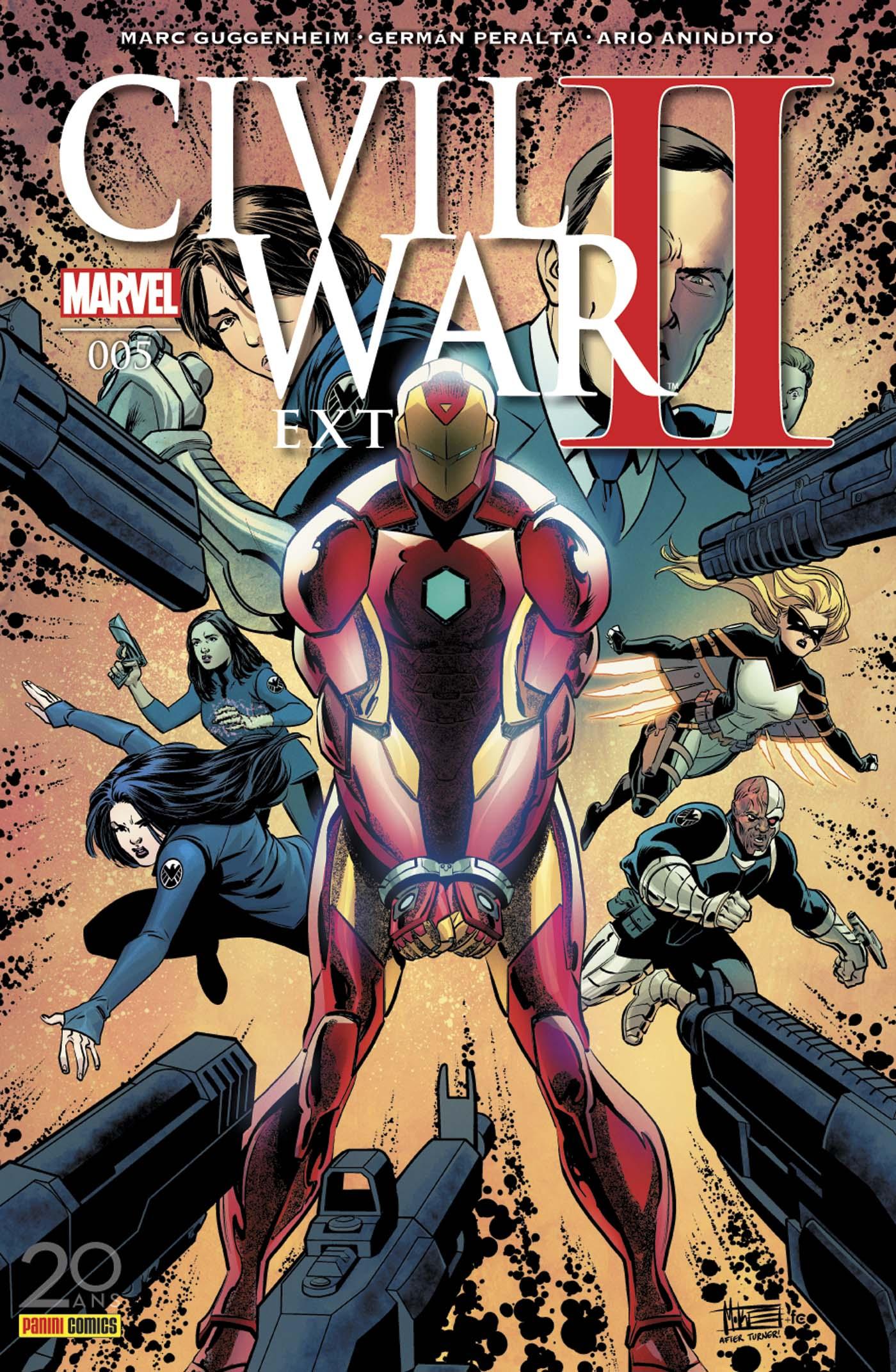 CIVIL WAR II EXTRA 5 : S.H.I.E.L.D.
