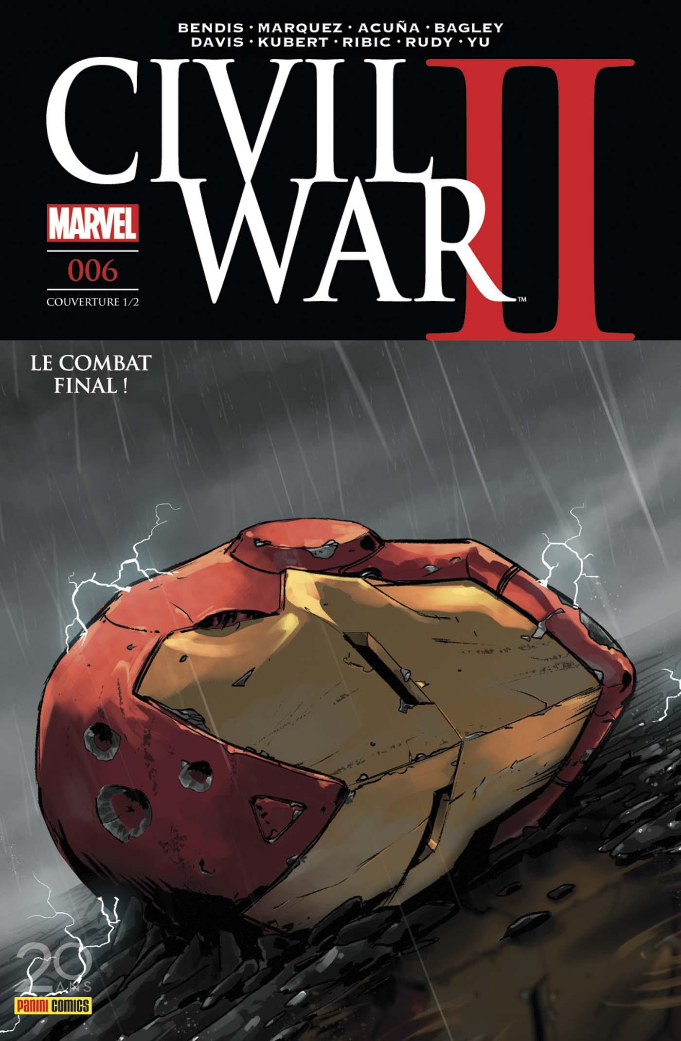CIVIL WAR II 6 (Couv 1/2)