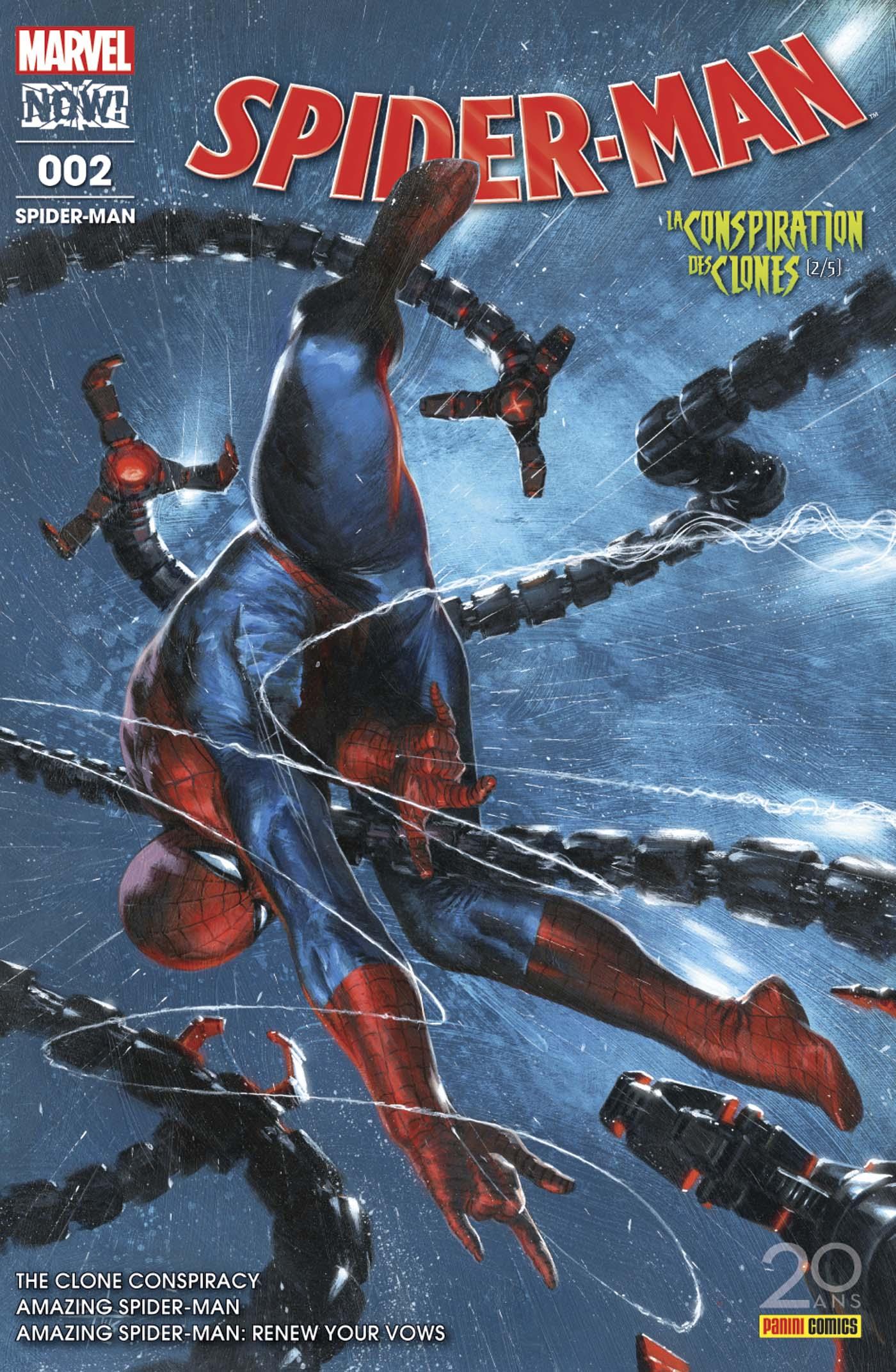 SPIDER-MAN 2 (Couv 1/2)