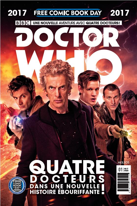 FCBD2017 - Doctor Who la promesse Free comic book day
