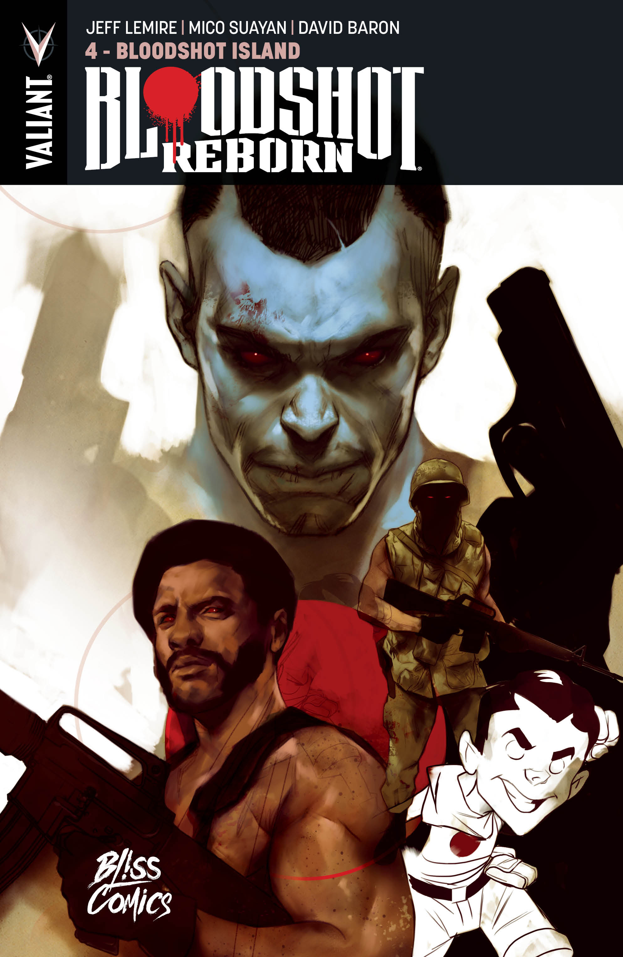 Bloodshot Reborn Tome 4 : Bloodshot Island