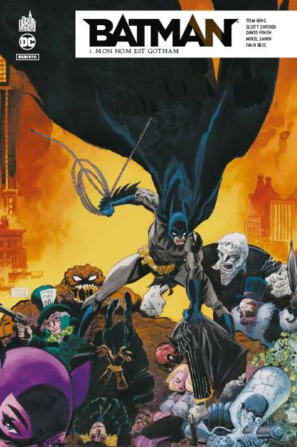 BATMAN REBIRTH tome 1 (Canal BD)