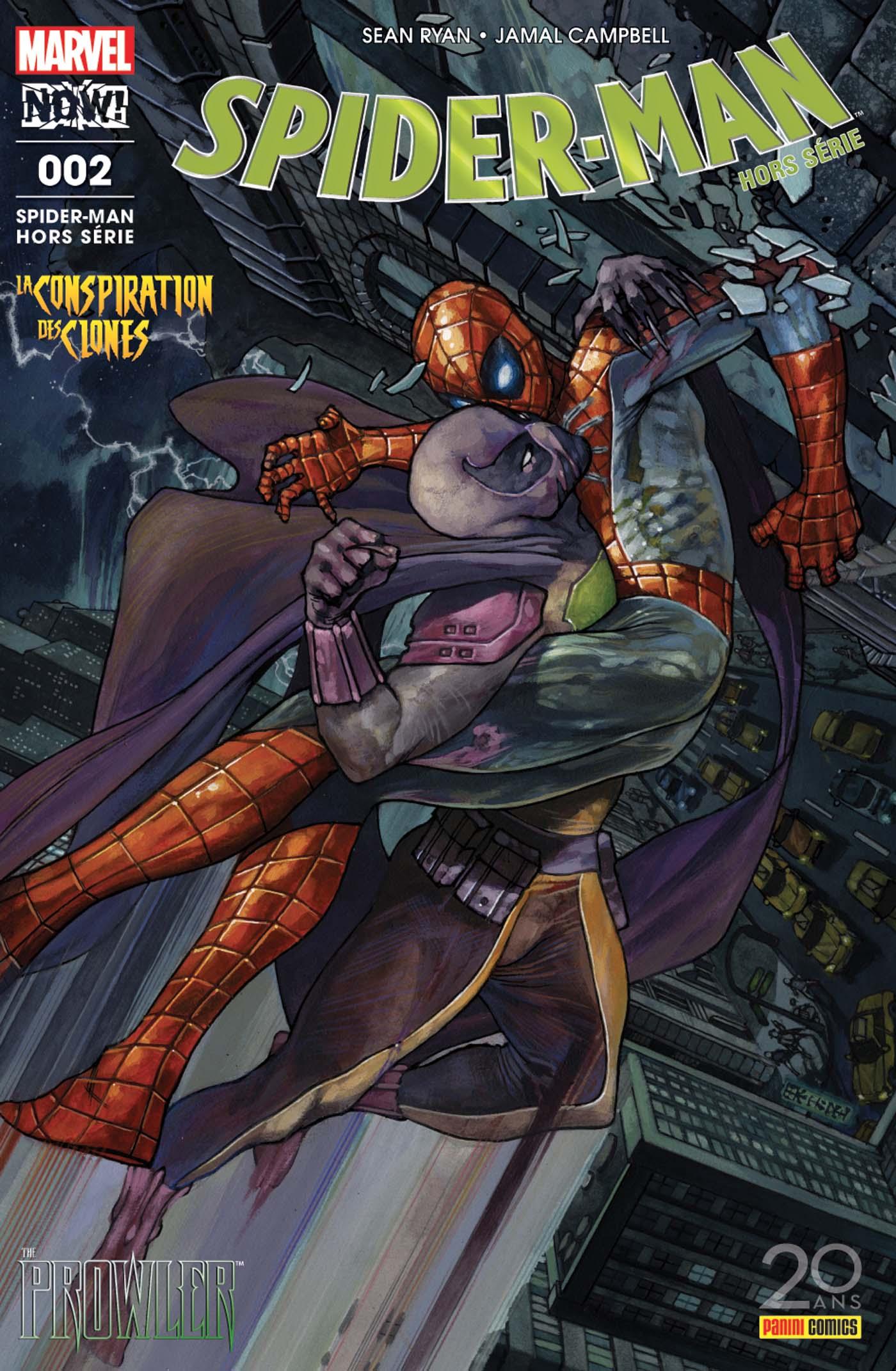 SPIDER-MAN HORS SERIE 2 : LE RÔDEUR