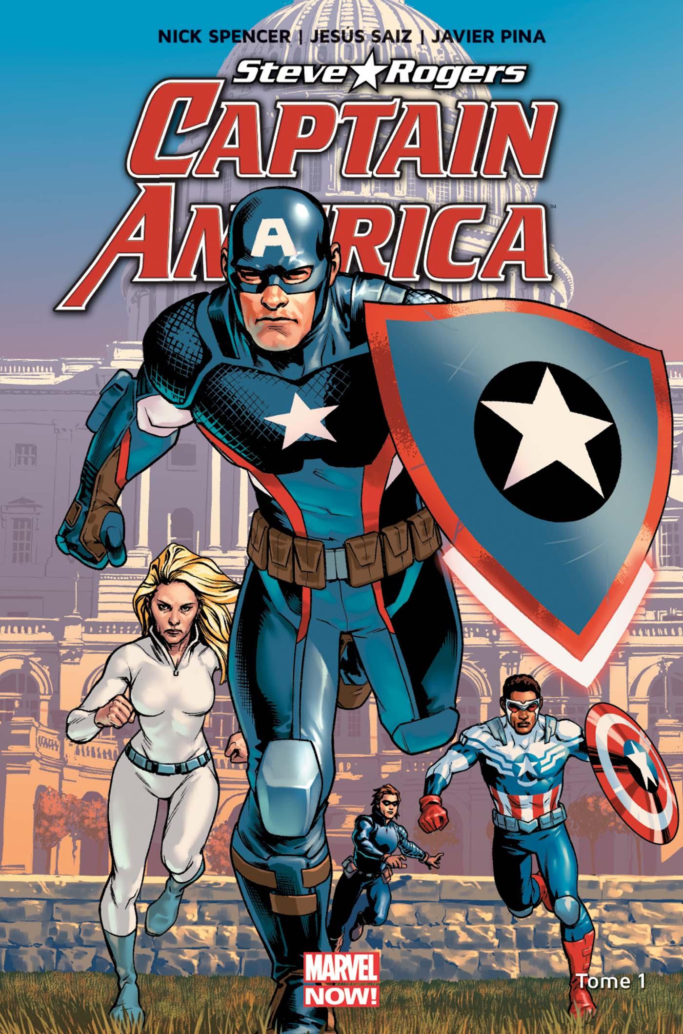 CAPTAIN AMERICA : STEVE ROGERS 1