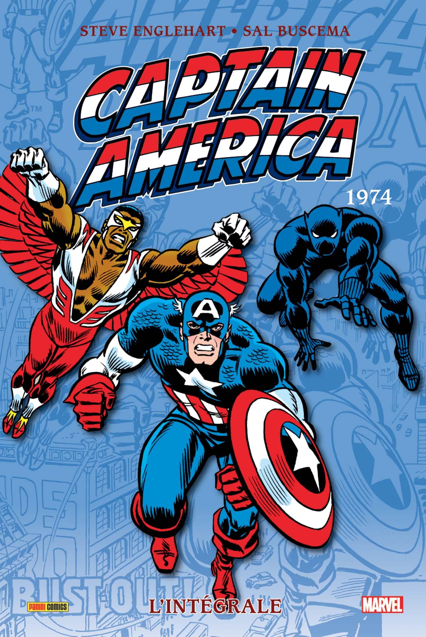 CAPTAIN AMERICA : L'INTEGRALE 1974