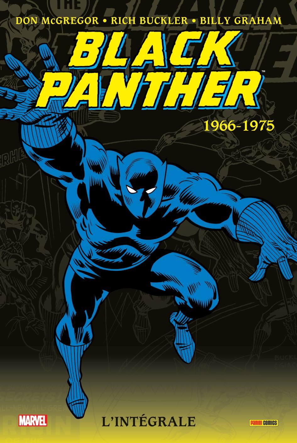 BLACK PANTHER : L'INTEGRALE 1966-1975