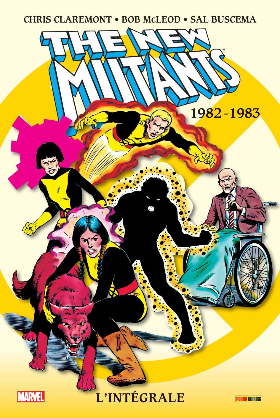 NEW MUTANTS : L'INTEGRALE 1982-83