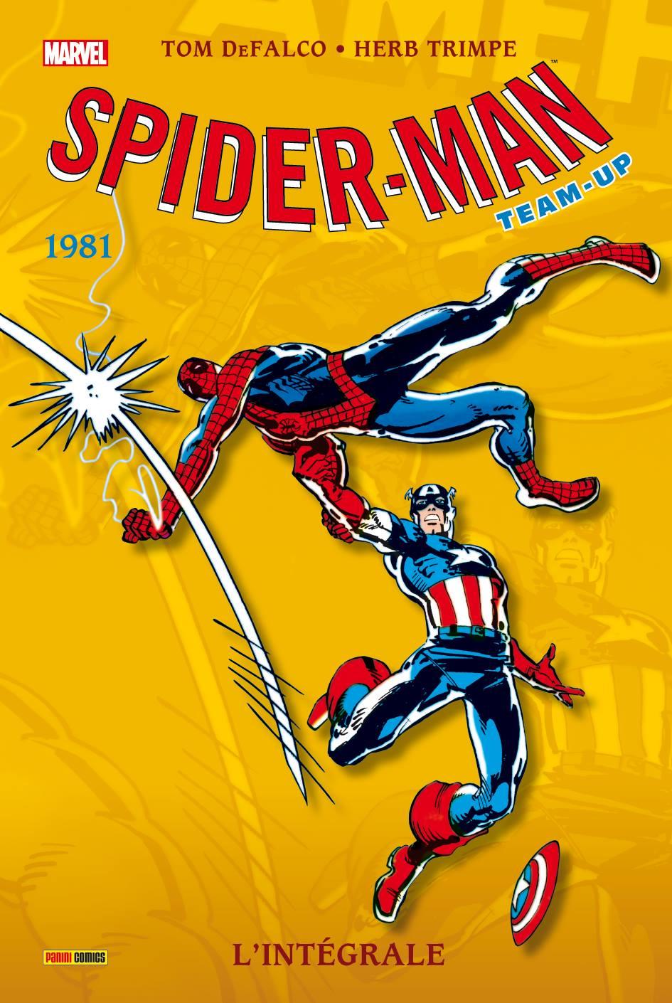 SPIDER-MAN TEAM-UP : L'INTEGRALE 1981