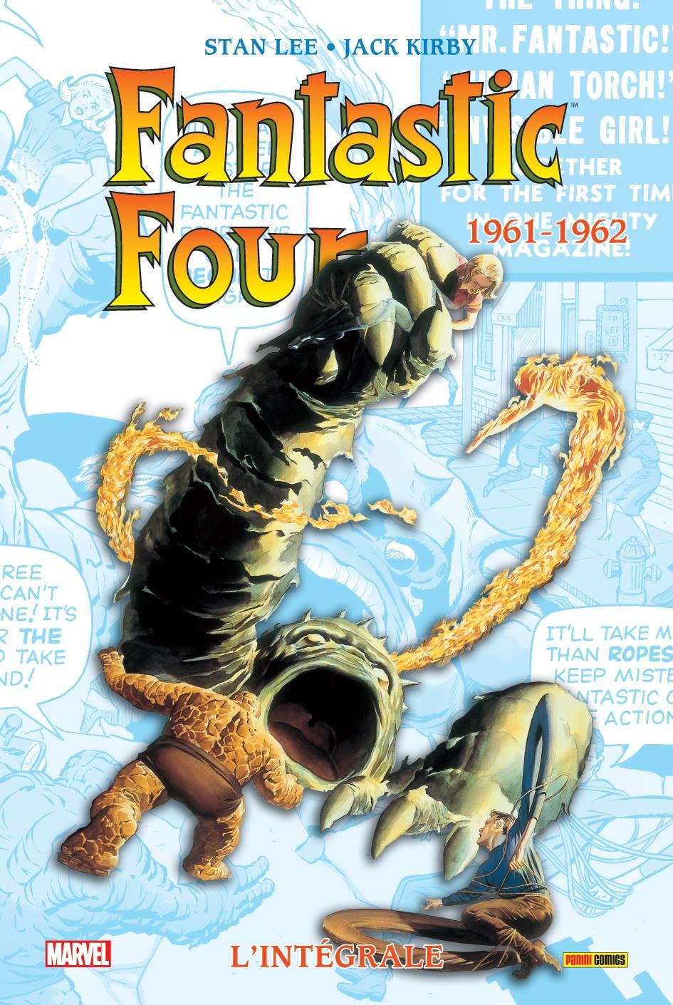 FANTASTIC FOUR, L'INTEGRALE 1961-62 (NOUVELLE EDITION)