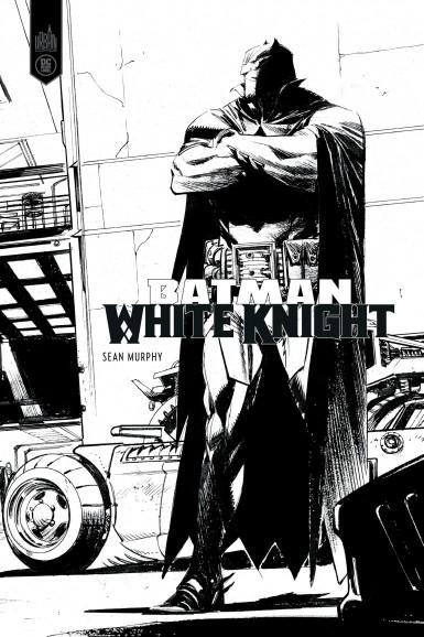 Batman White Knight – version N&B