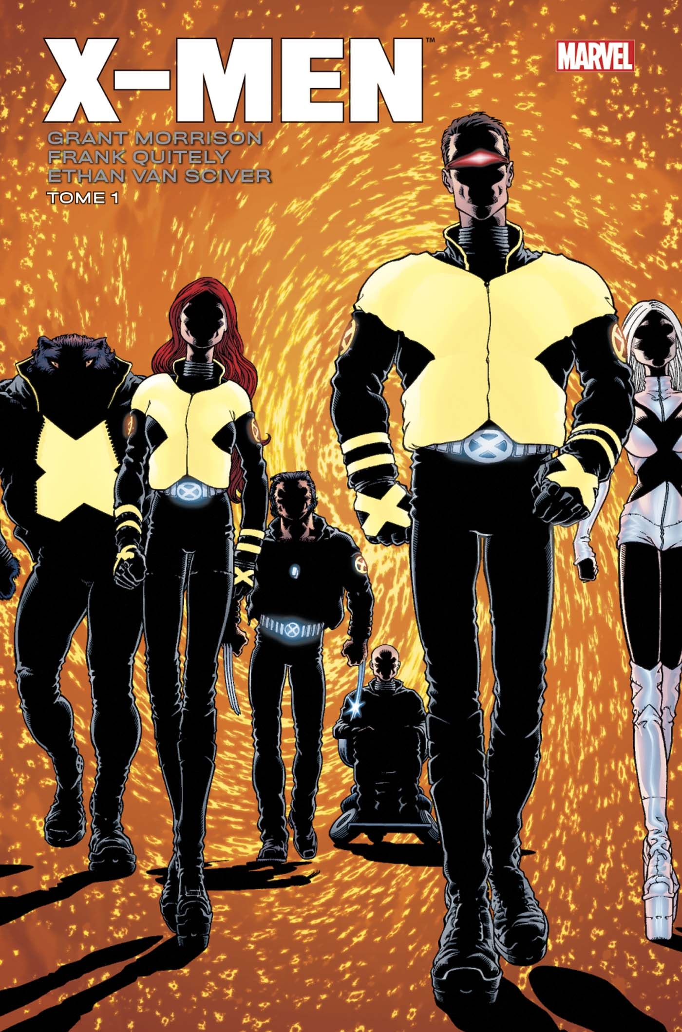 X-MEN PAR MORRISON/QUITELY T01