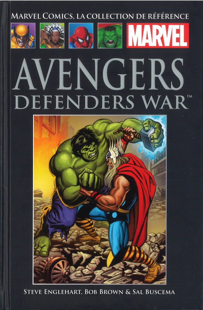 Tome XXV: Avengers Defenders War