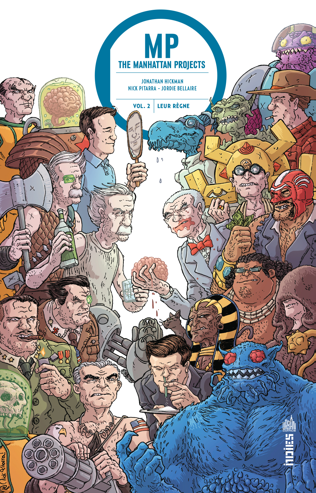 MANHATTAN PROJECTS tome 2