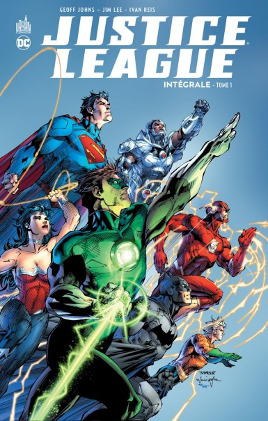 Justice League Intégrale tome 1