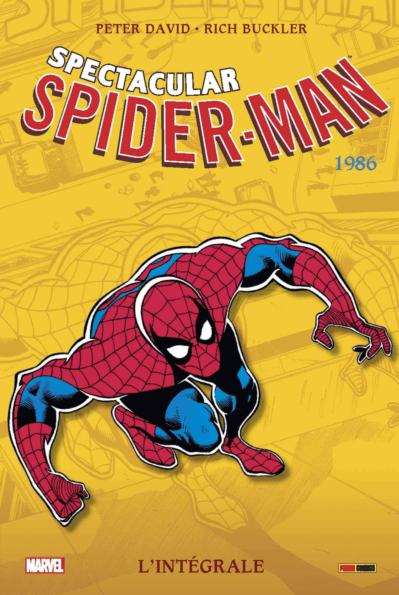 SPECTACULAR SPIDER-MAN, L'INTEGRALE 1986
