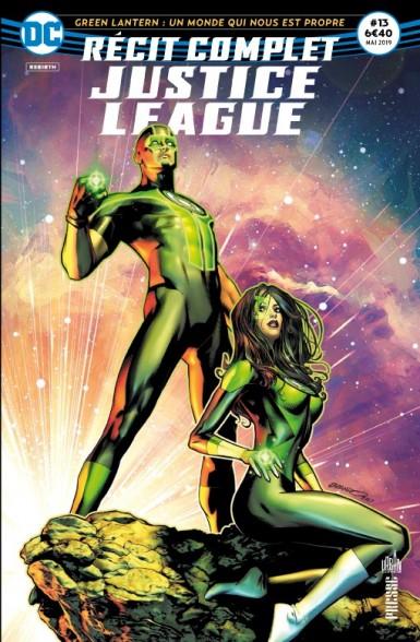 Récit complet justice league #13