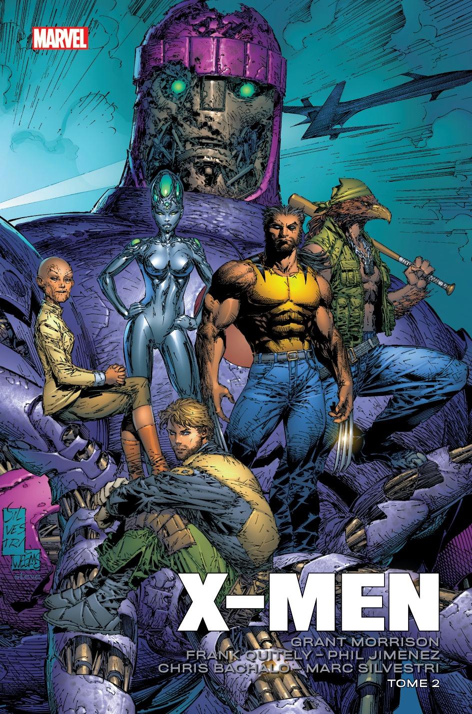 X-MEN PAR MORRISON, QUITELY, BACHALO & SILVESTRI T02