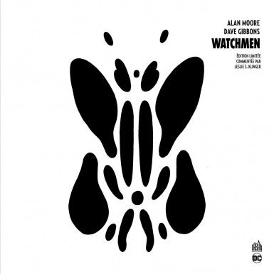 Watchmen édition n&b annotée