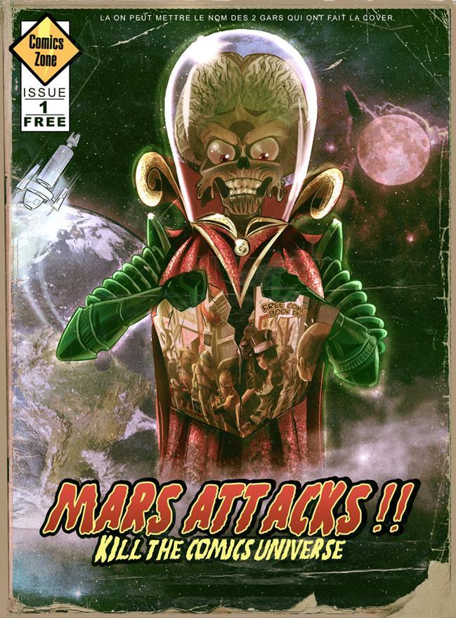 FCBD 2019 - Mars Attacks kills the Comics Universe