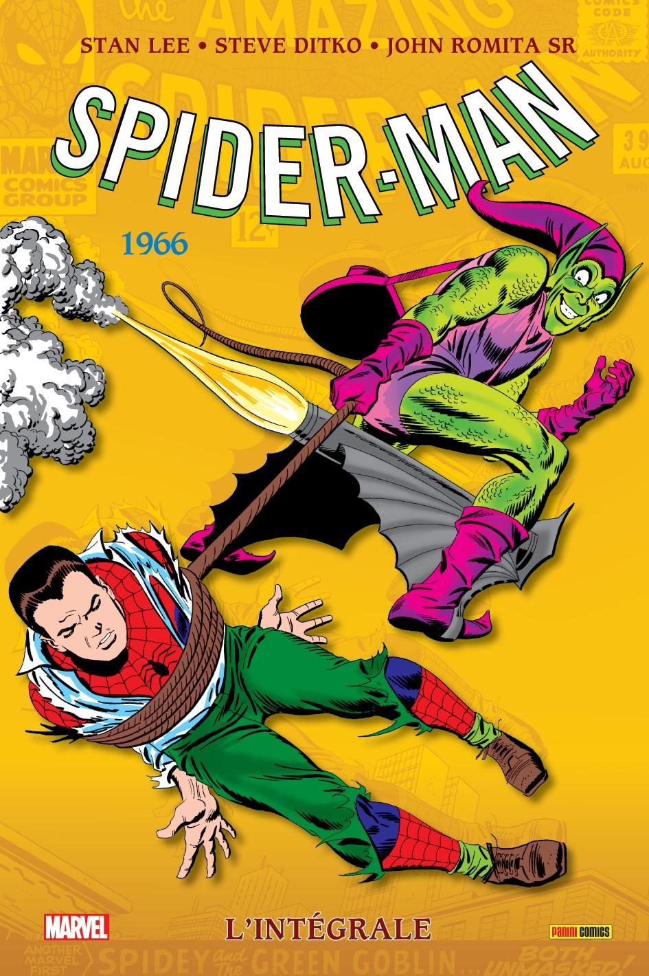 AMAZING SPIDER-MAN : L'INTÉGRALE 1966 (NOUVELLE ÉDITION)