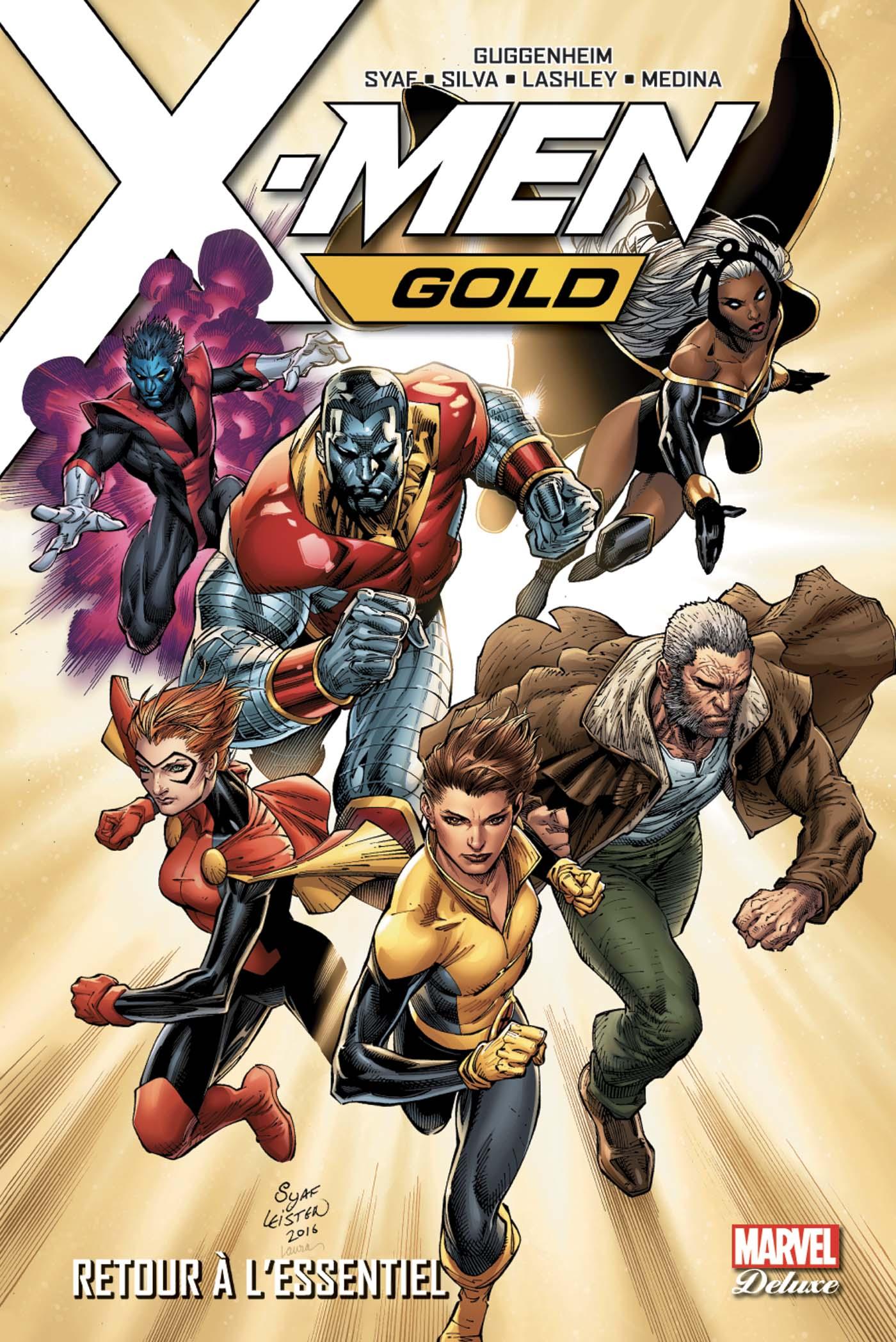 X-MEN GOLD T01