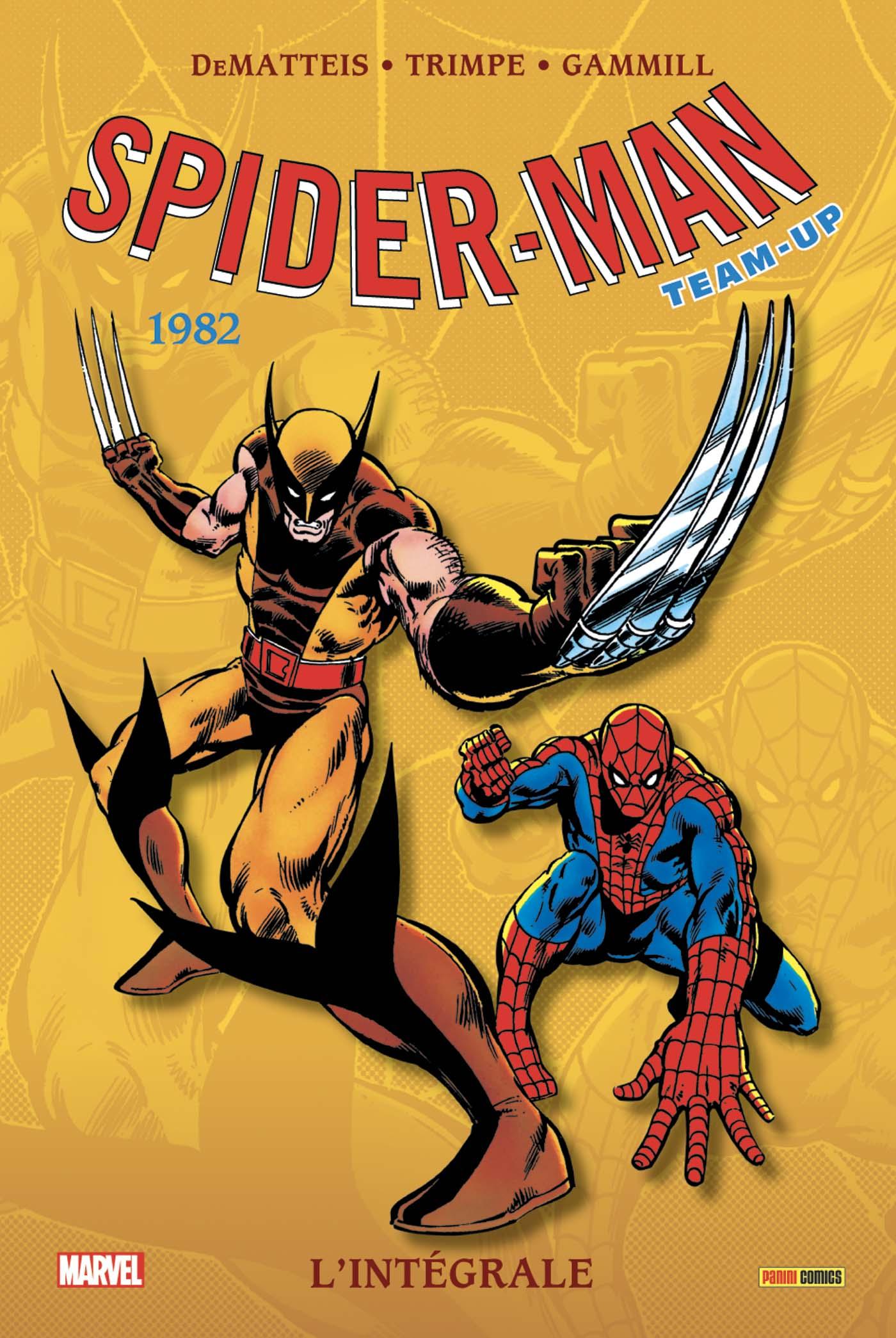 SPIDER-MAN TEAM-UP : L'INTÉGRALE 1982