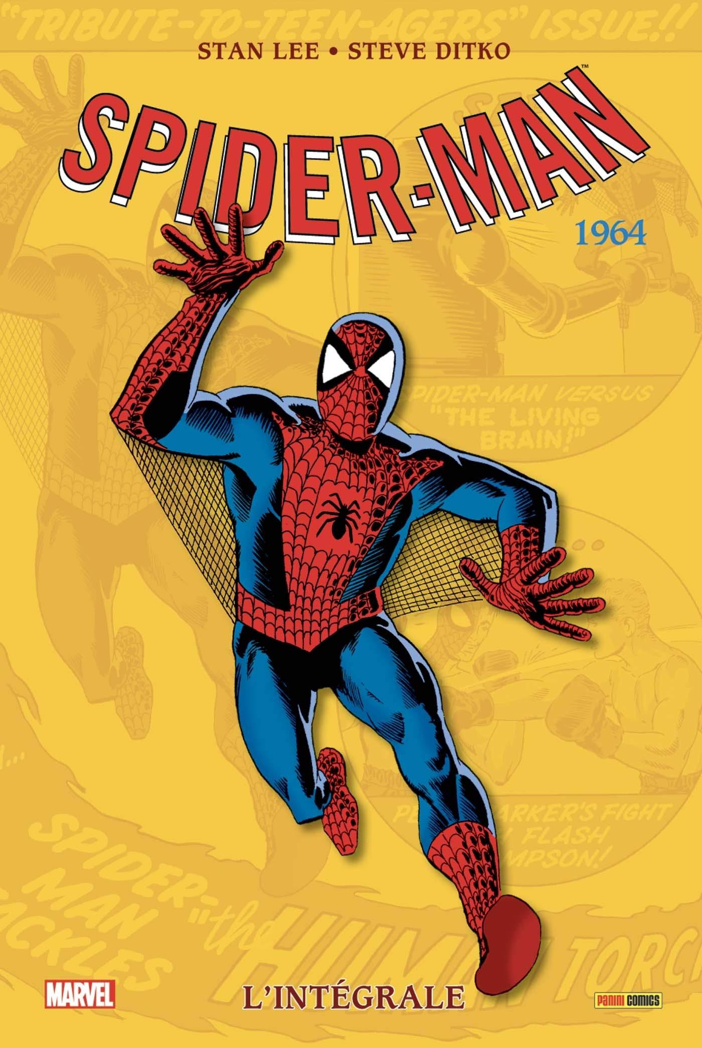 AMAZING SPIDER-MAN : L'INTÉGRALE 1964 (NOUVELLE ÉDITION)