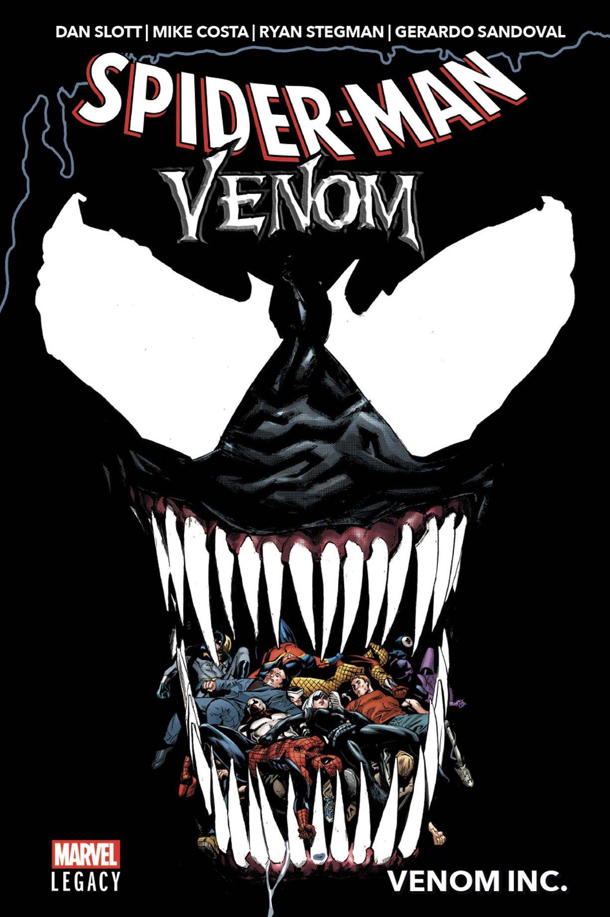 MARVEL LEGACY : SPIDER-MAN/VENOM – VENOM INC.