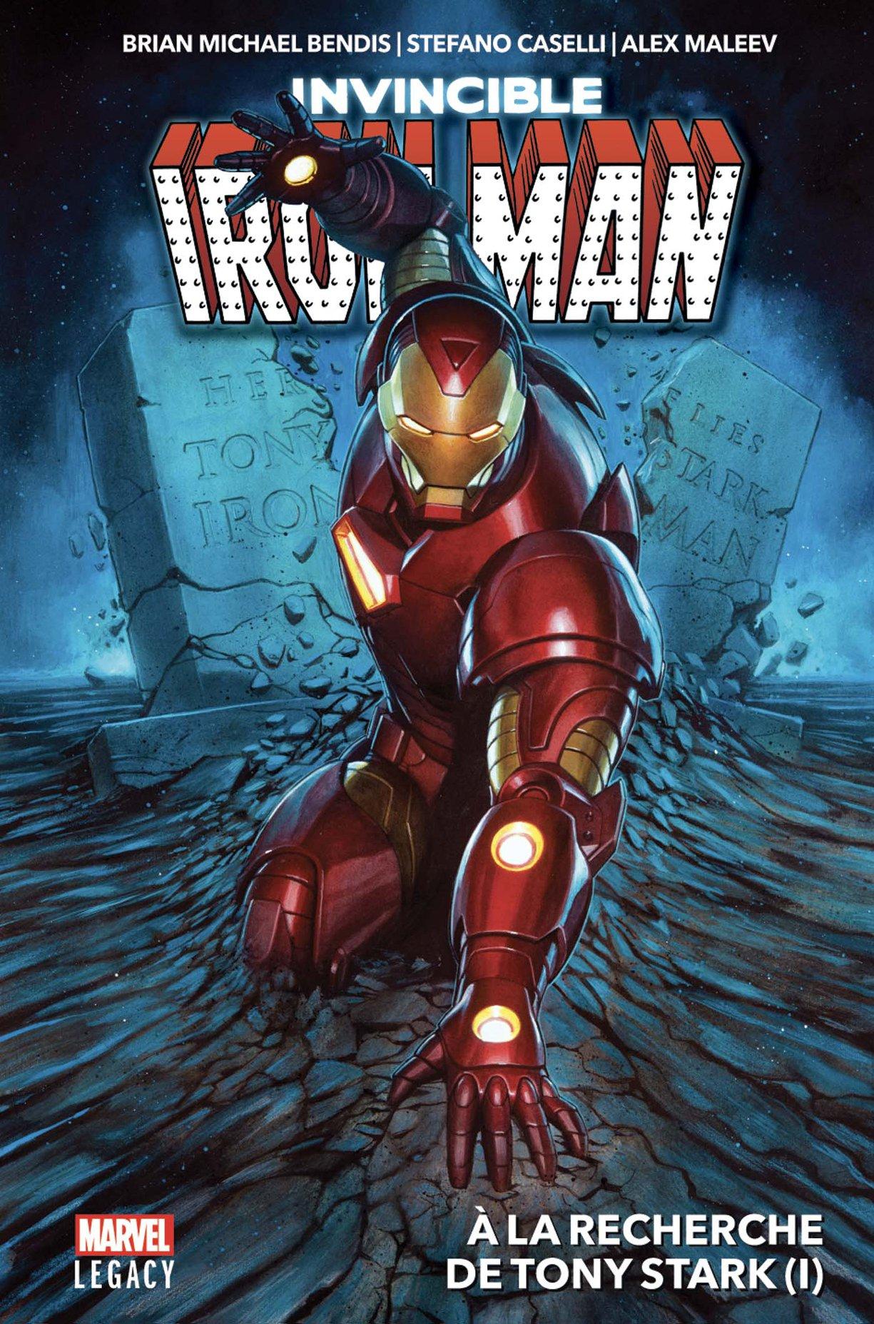 MARVEL LEGACY : IRON MAN T01