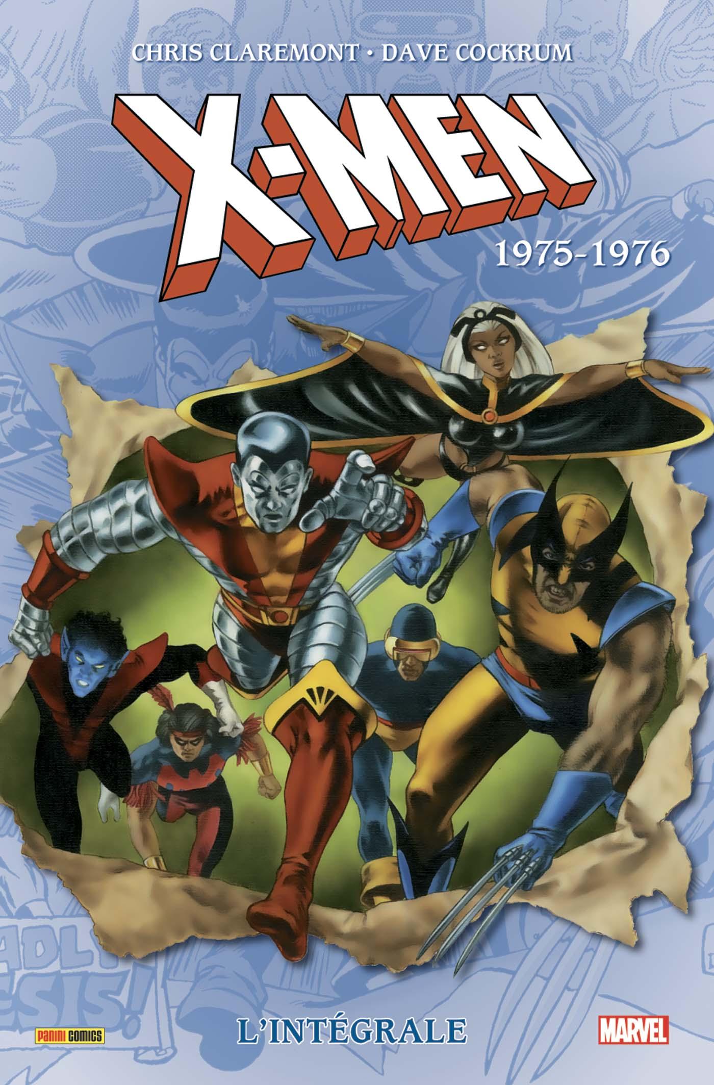INTÉGRALE X-MEN T01 : 1975-76 (NOUVELLE EDITION)