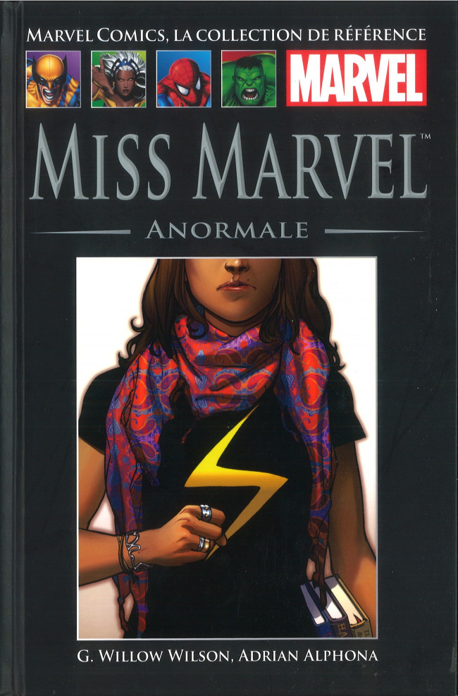 Tome 98: Miss Marvel - Anormale