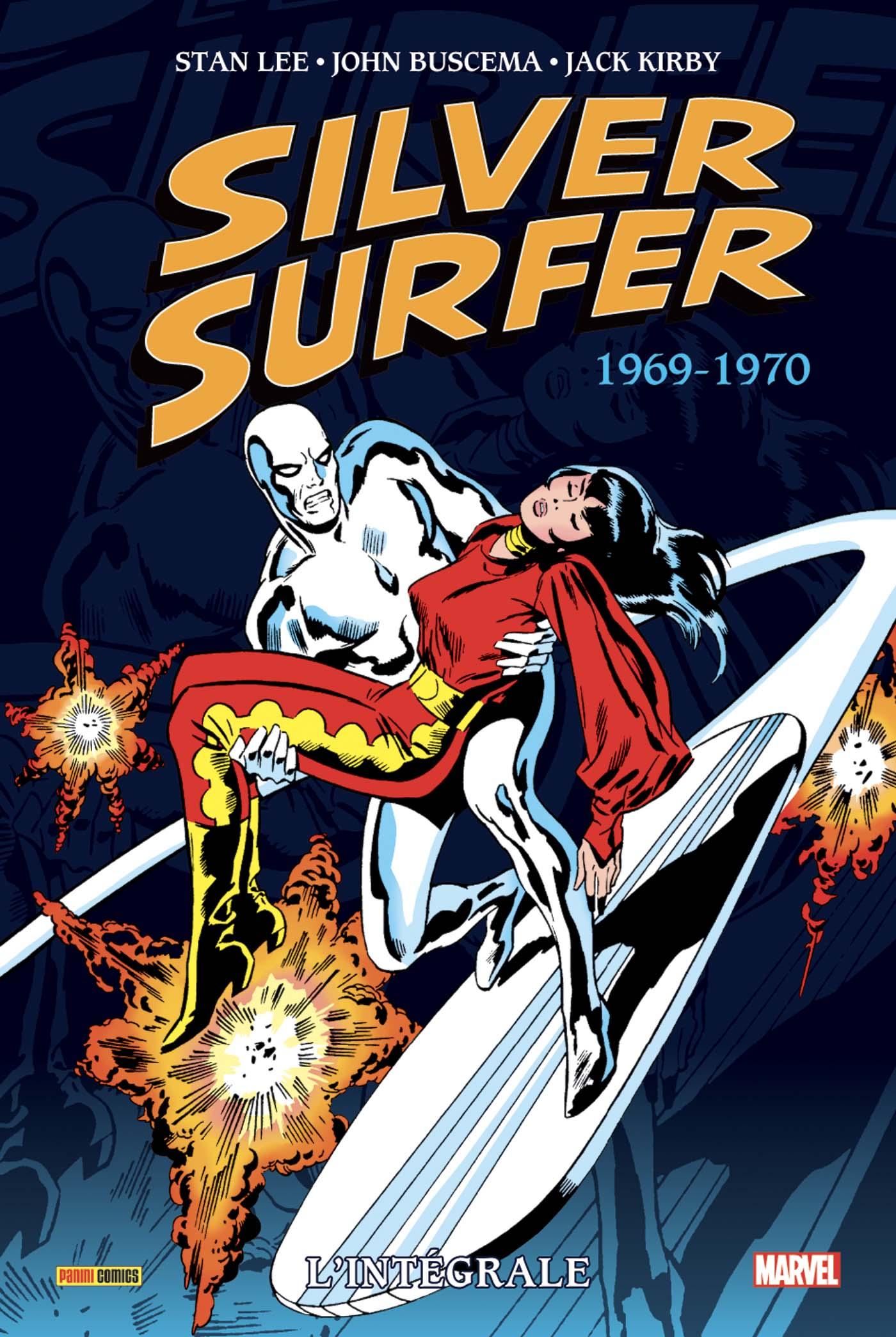 SILVER SURFER : L'INTÉGRALE 1969-70