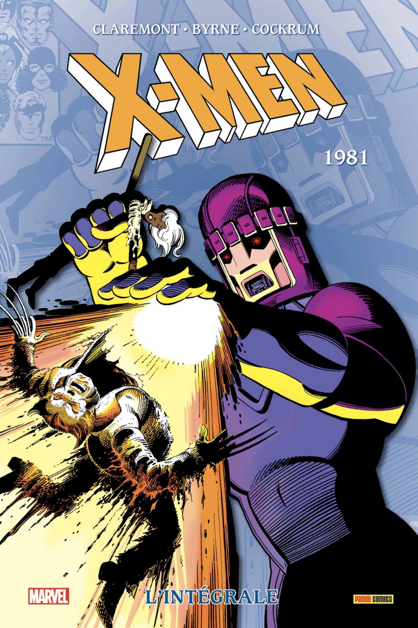 X-MEN : L'INTÉGRALE 1981 (NOUVELLE ÉDITION)