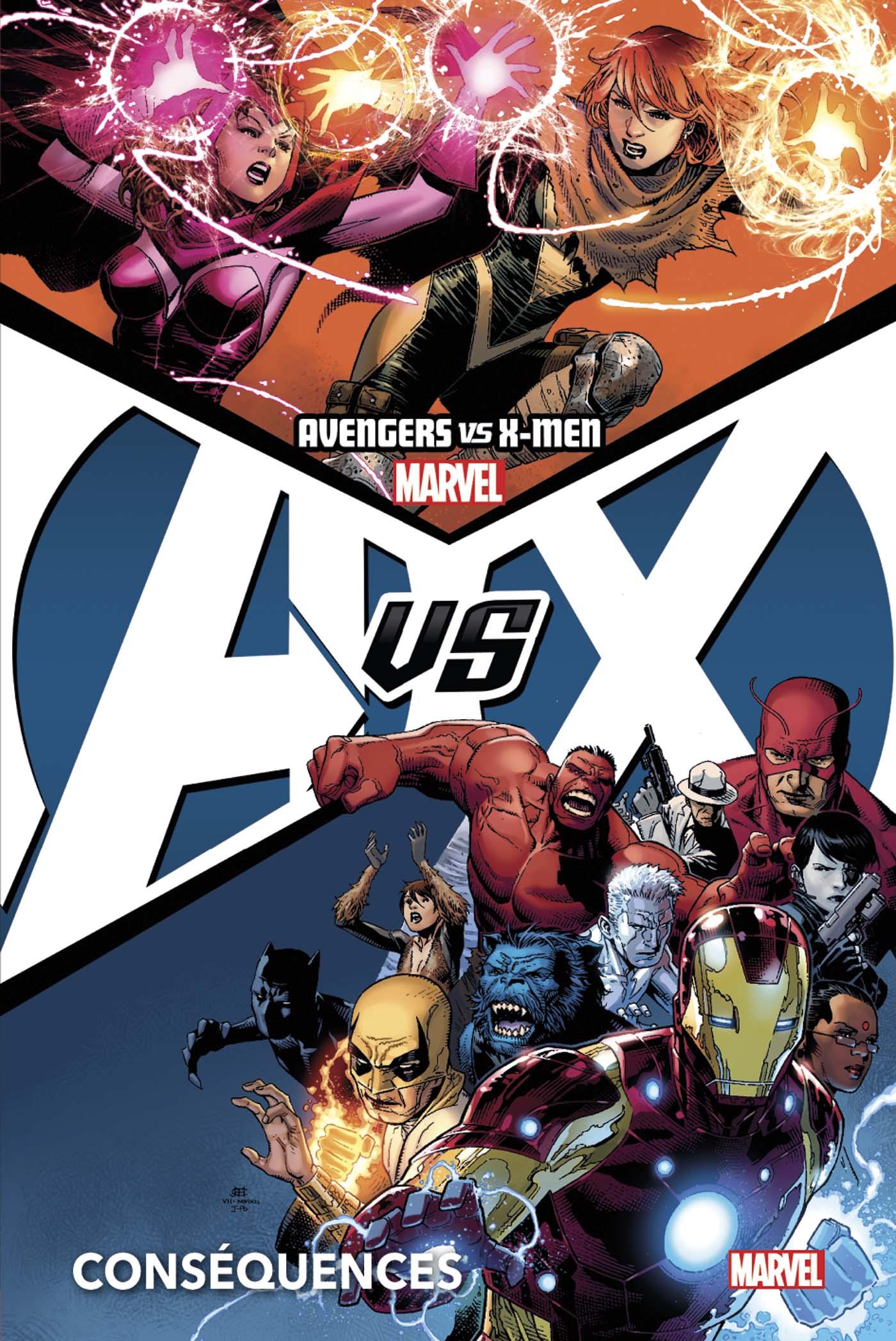 AVENGERS VS X-MEN : CONSÉQUENCES (NOUVELLE EDITION)