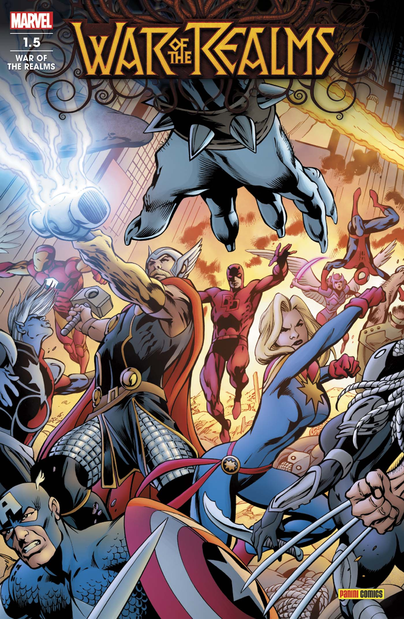 WAR OF THE REALMS 1.5