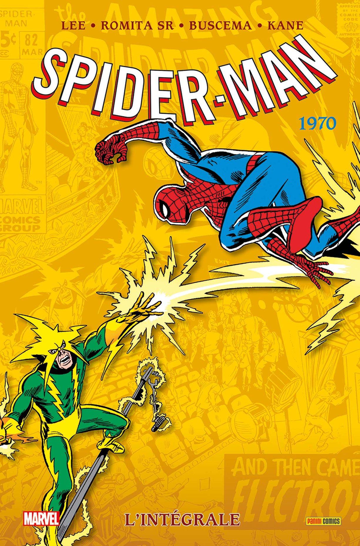 SPIDER-MAN : L'INTÉGRALE 1970 (NOUVELLE ÉDITION)