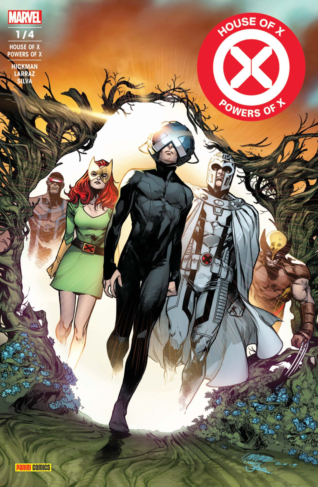 HOUSE OF X/POWERS OF X 1 (sur 4)