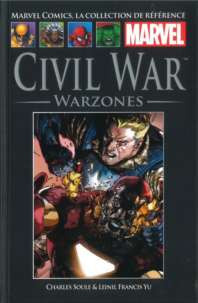 Tome 114: Civil War - Warzones