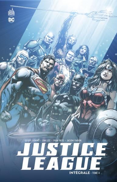 Justice league intégrale tome 4
