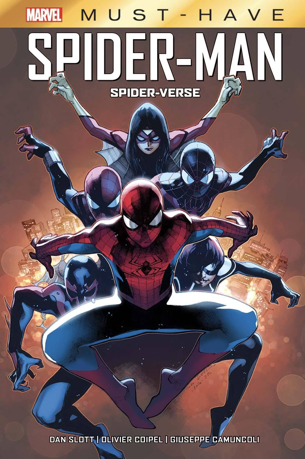 SPIDER-MAN : SPIDER-VERSE (MUST HAVE)